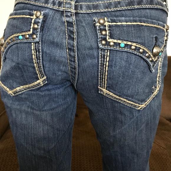 8fb3ab8464d7c Ariat Denim - Ariat turquoise jeans